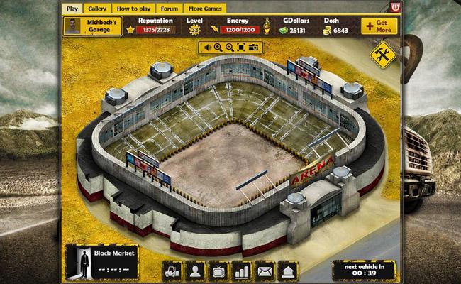 Arenan spel